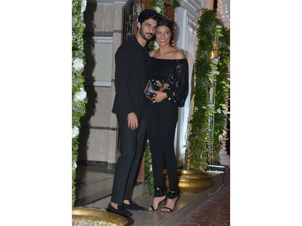 Sushmita Sen Stuns In Western Wear As She Attends Diwali Bash With Her Rumoured Boyfriend