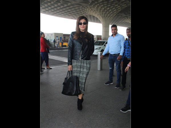 Raveena Tandon Airport Looks