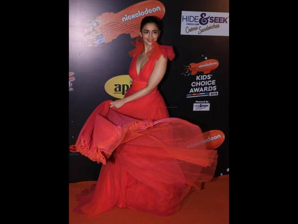 Alia Bhatt Kids Choice Awards