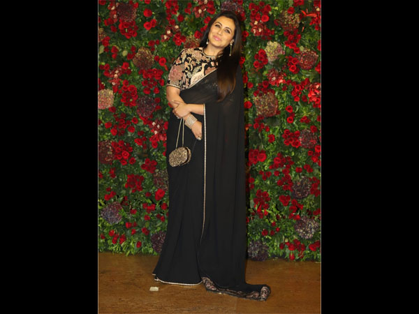 Rani Mukerji Deepika Ranveer Wedding Reception