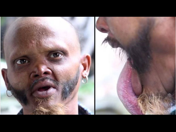 Man Claims To Be The Only Person In The World Who Can Lick His Forehead