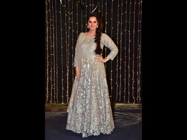 Sania Mirza Priyanka Chopras Reception