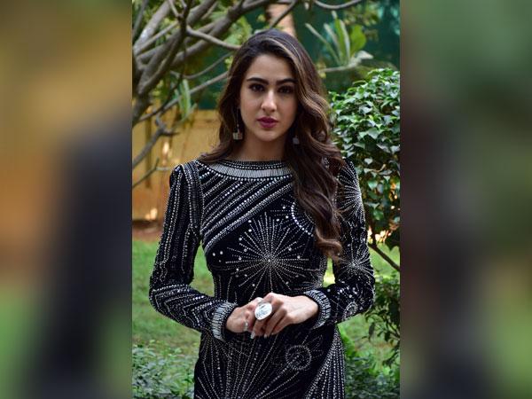 Sara Ali Khan Looks Heavenly In This Heavenly Black Dress