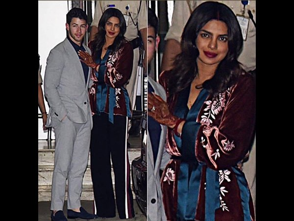 Woah! Priyanka Chopra's Latest Airport Attire Is About Teaming Party-wear With Casual-wear