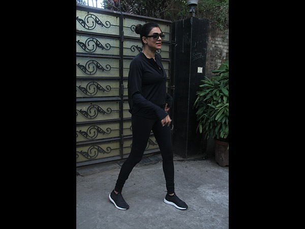 Be It Hiking Or Gymming? Sushmita Sen's All-black Outfit Is What You Need