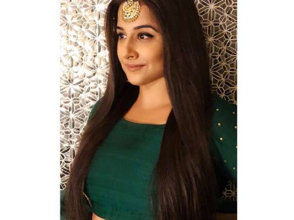 Vidya Balan Goes Green And Regal For Isha Ambani's Wedding Festivities