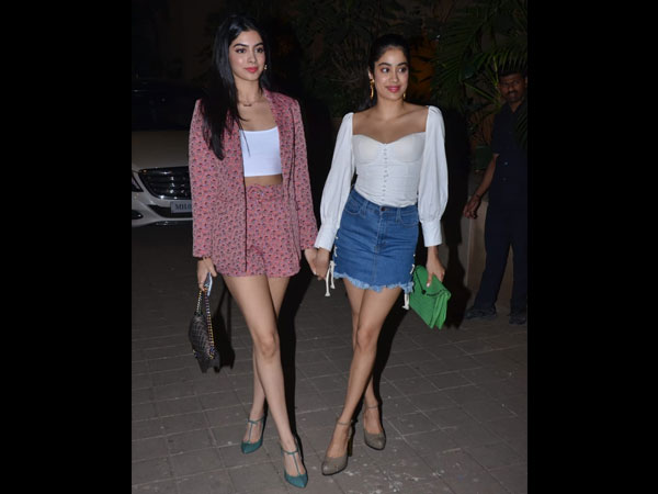 Janhvi and Khushi Kapoor Fashion