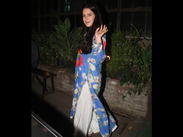 Isabelle Kaif's Latest Outfit Is Like A Sprinkle Of Spring In The Winter Season