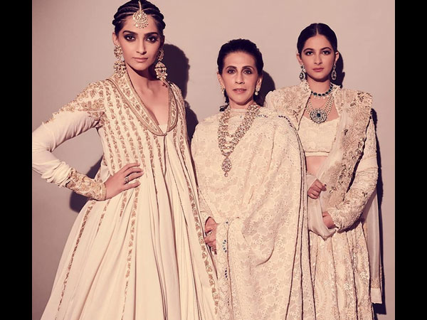 Sonam & Rhea's Latest Traditional Outfits Will Leave You Ivory-inspired And Speechless