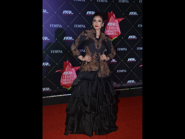 Raveena Tandon Nykaa Femina Beauty Awards