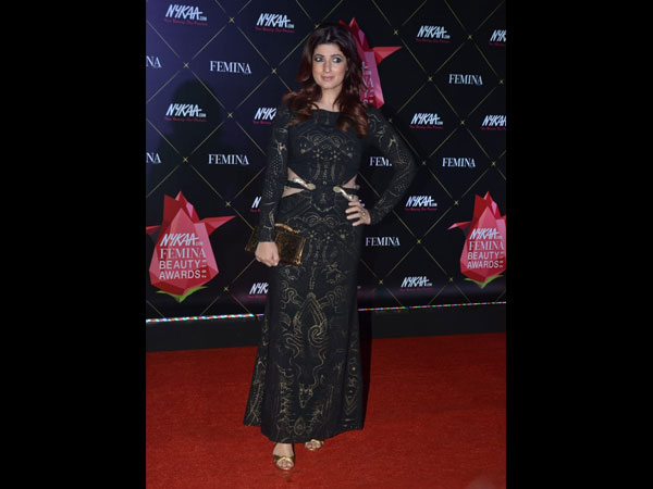 Twinkle Khanna Nykaa Femina Beauty Awards