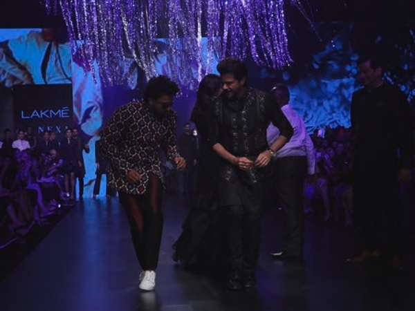 Ranveer Singh Lakme Fashion Week