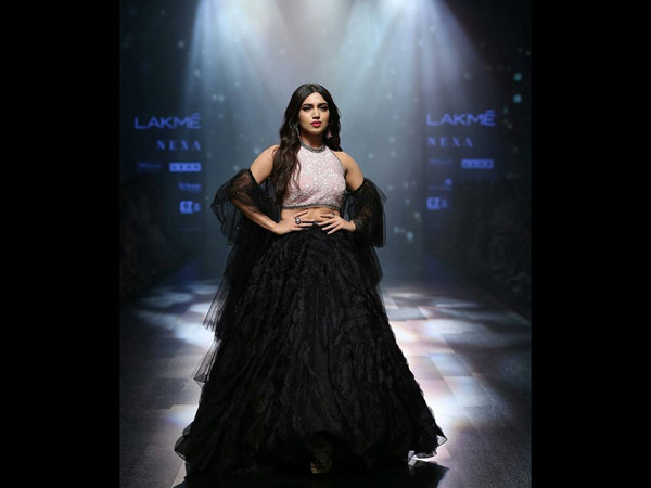Bhumi Pednekar Lakme Fashion Week