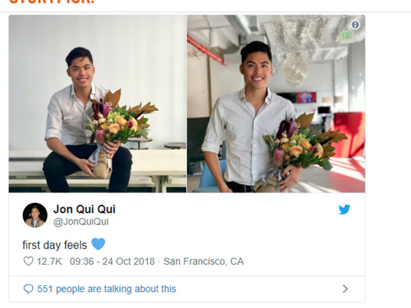 He Got Welcome Flowers On His First Day At Work But Then…