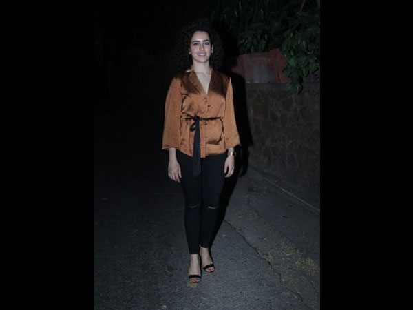 Casual And Elegant, Sanya Malhotra Gave Us A Fashion Goal Of The Day