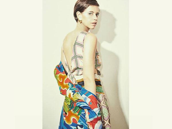 Kalki Koechlin's Paris Diary Includes An Abstract Printed Dress
