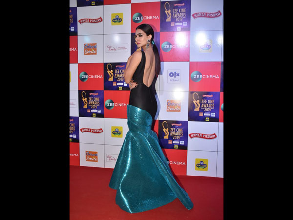 Kriti Sanon's Latest Gown Is About Colour-Blocking And Sculpturing Done Meticulously