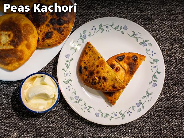 Peas Kachori Recipe: How To Make Matar Kachori
