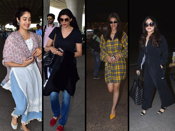 Bollywood Divas Airport Look