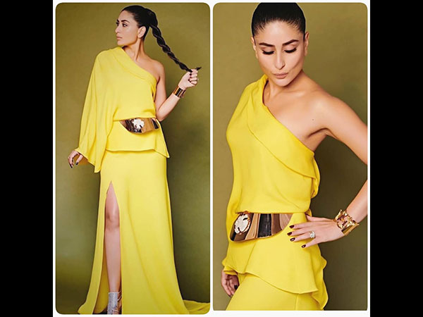 fb186add05 While most of us will think twice about pairing up our dress with a braid,  Kareena Kapoor is not the one to shy away from experimenting with her look.