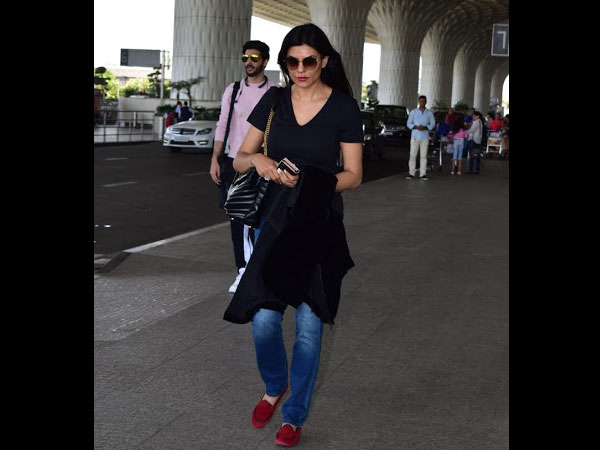 Sushmita Sen Airport Look