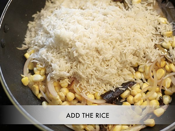 Corn Pulao Recipe: How To Make Corn Pulao