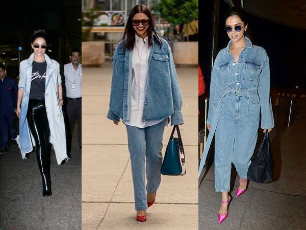Travel In Denims, Inspires Deepika Padukone With Her Airport Outfits