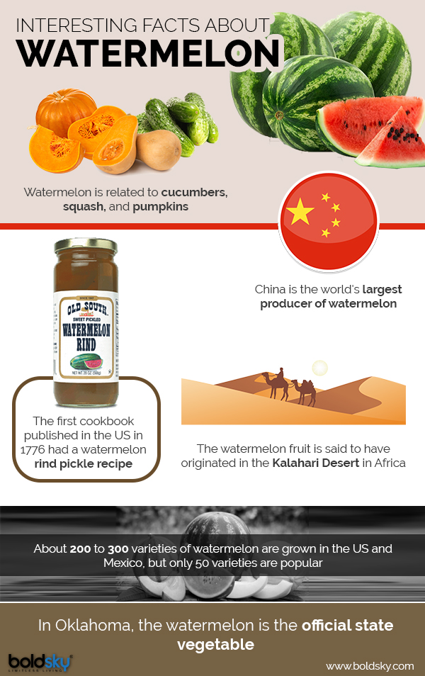 watermelon health benefits infographic