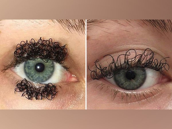 Curly Eyelashes Are The Scary New Beauty Trend