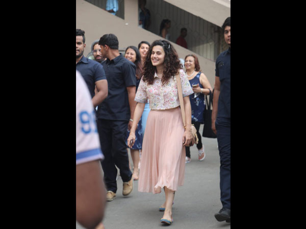 Taapsee Pannu's Skirt And Top Is A Fashion Investment That Will Instantly Make You Feel Good