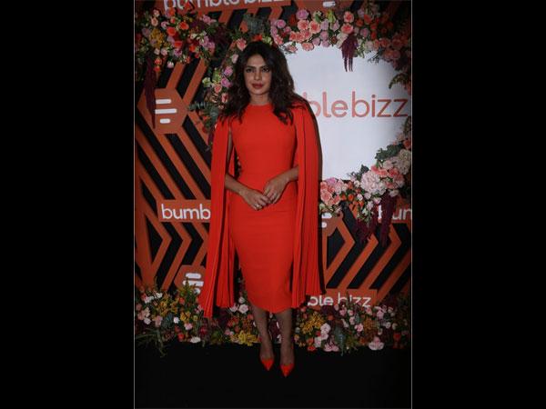Priyanka Chopra Jonas Shows Us How To Slay It In A Monochrome Dress