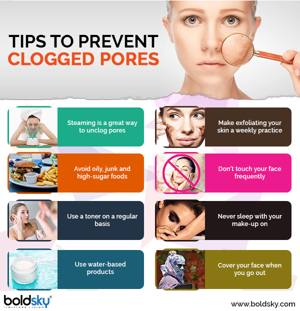 home remedies for clogged pores on face