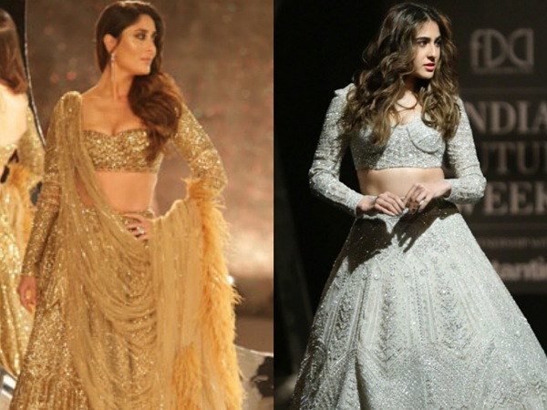 Sara Ali Khan India Couture Week 2019