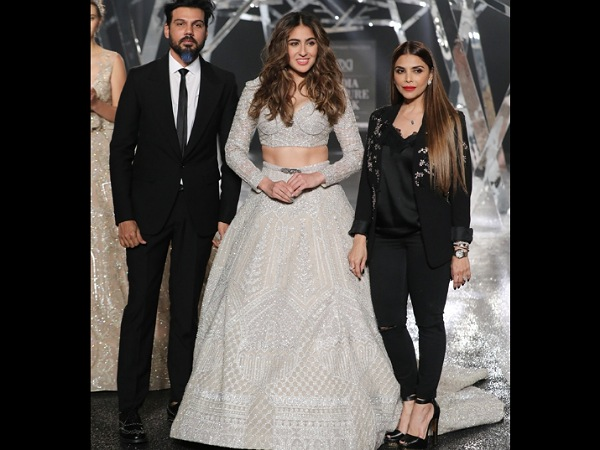 Sara Ali Khan FDCI India Couture Week 2019
