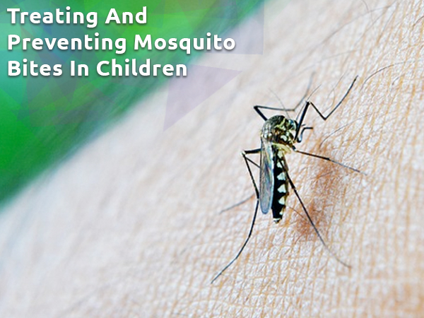 Useful Tips For Treating And Preventing Mosquito Bites In Children