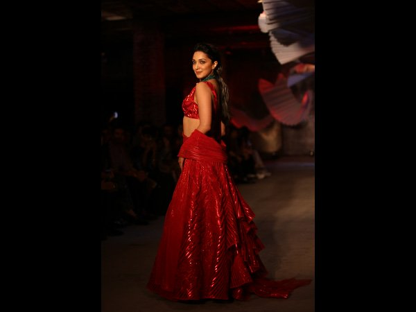 Kiara Advani India Couture Week 2019