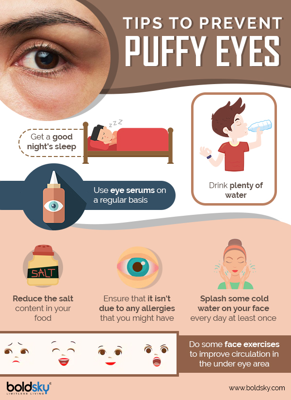 Simple And Effective Home Remedies To Get Rid Of Puffy Eyes