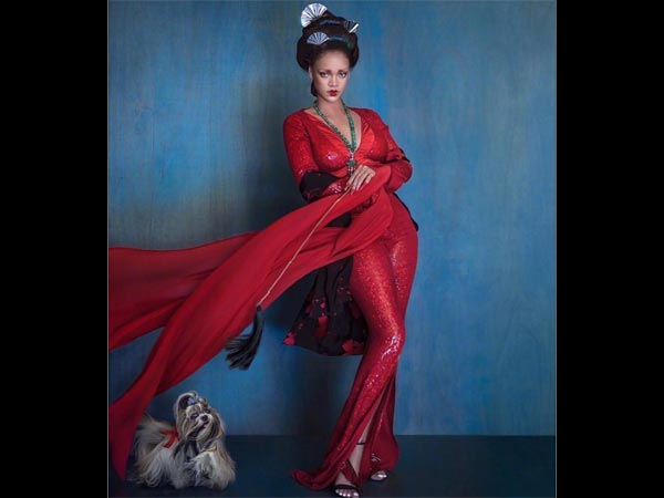 Post Controversy, Rihanna's Latest Photoshoot Is Rich In Hues And Drama