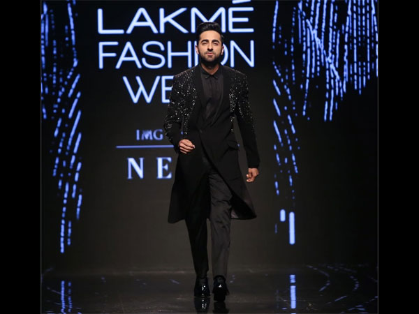 Ayushmann Khurrana Lakme Fashion Week Winter Festive 2019