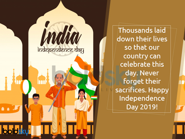happy independence day 2019