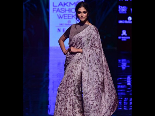 Malavika Mohanan Lakme Fashion Week Winter Festive 2019