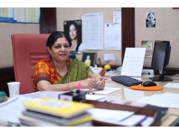 Ms Poonam Muttreja, Executive Director of the Population Foundation of India