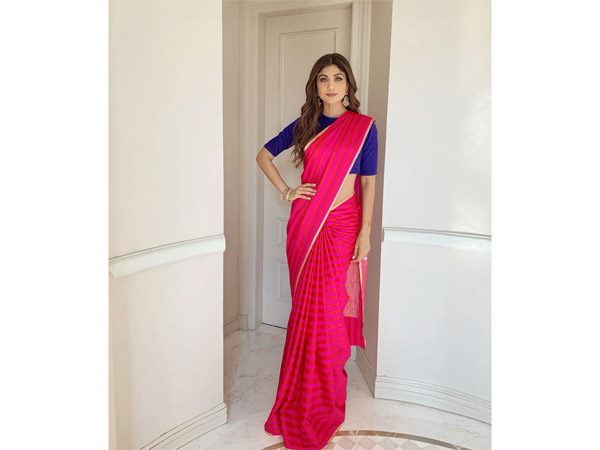 Shilpa Shetty Saris