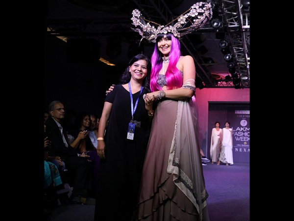 Adah Sharma Lakme Fashion Week Winter Festive 2019