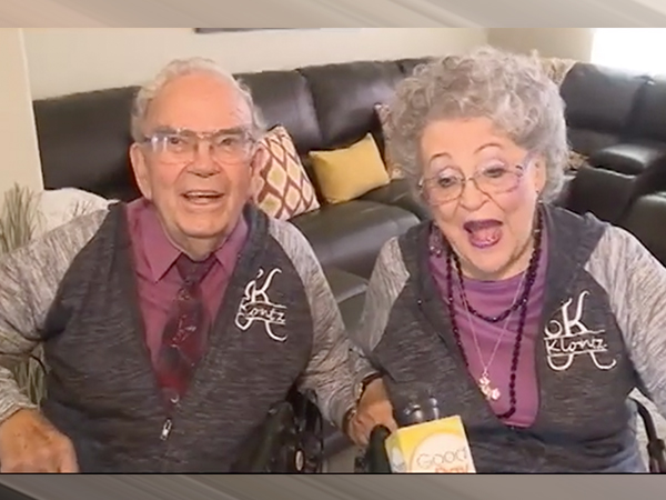 Rosemary And Francis Klontz Reveal The Secret Behind Their 68-Year Marriage