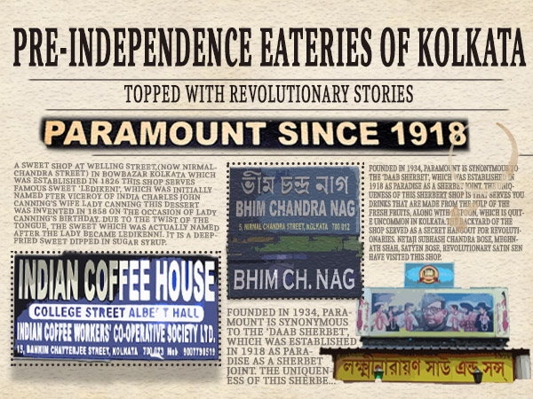 Independence Day 2019: Let's Indulge In Gastronomical Journey Of Kolkata's Pre-Independence Eateries