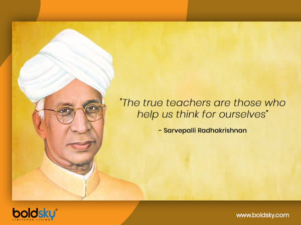 teachers day history and significance of teachers day