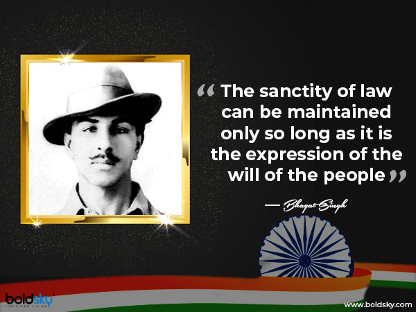 Bhagat Singh S 113th Birth Anniversary Facts About The Revolutionary Freedom Fighter His Quotes Boldsky Com