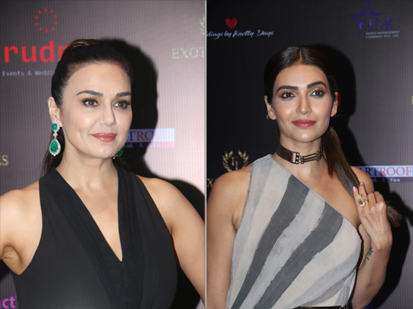 Preity Zinta And Karishma Tanna