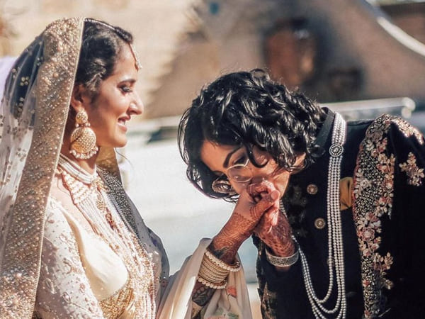 Indo-Pak Same-Sex Couple Ties The Knot In FairyTale Wedding